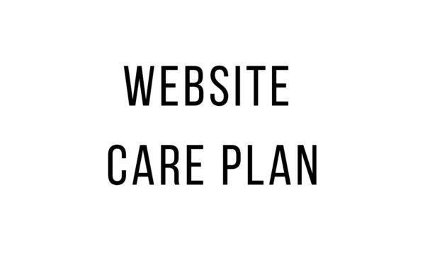 website-care-plan-service